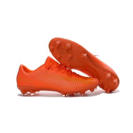 Nouvel 2016 Chaussures Football Nike Mercurial Vapor XI FG Tout Orange