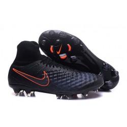 Nike Magista Obra 2 FG ACC Chaussures Homme Noir Orange