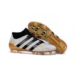 adidas ACE 16.1 Primeknit FG/AG Chaussures Football Homme Blanc Or Noir