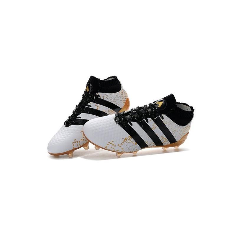 1 Primeknit Blanc Or Football Ace Fgag Noir Homme Adidas 16 Chaussures qUjLMGpSzV