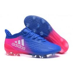 Chaussure adidas X 16.1 FG Homme Nouveaux Bleu Rose