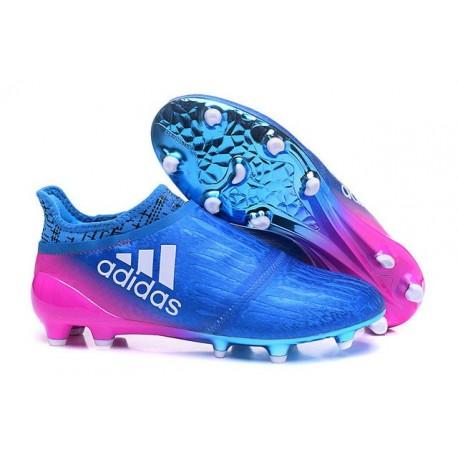 Adidas 16 Purechaos Chaussures Techfit De Bleu Foot Fg Rose X XIwIqErg