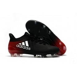 Chaussure adidas X 16.1 FG Homme Nouveaux Noir Rouge