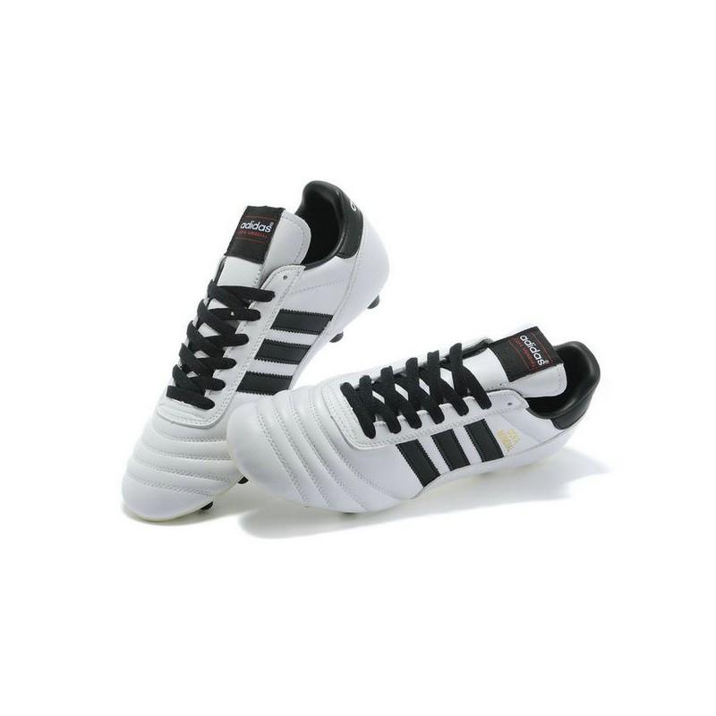 chaussure de foot adidas copa mundial blanc