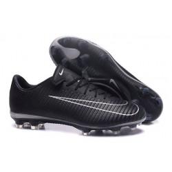Nouvel 2016 Chaussures Football Nike Mercurial Vapor XI FG Noir Blanc