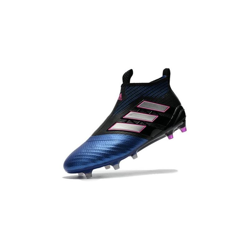 wholesale dealer 6528c 54565 Purecontrol Bleu Football Adidas Chaussures Blanc De Noir Ac