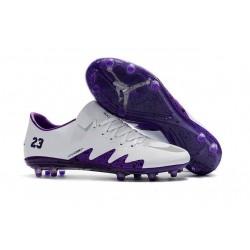 Nike Hypervenom Phinish FG Nouvelles Crampons Football Blanc Violet