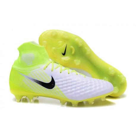 Magista Obra De Foot Jaune Nouvel Nike 2 Blanc Noir Crampons Fg 0Ovm8PyNnw
