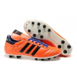 Chaussures de Football adidas Copa Mundial FG Cuir de Kangourou Orange