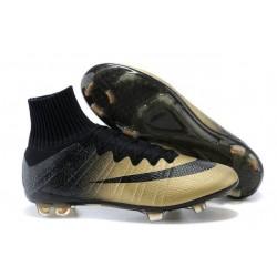 Crampons de Football Nike Mercurial Superfly CR7 FG 'Rare Gold' Ronaldo's Ballon D'or