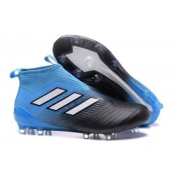 adidas Ace17+ Purecontrol FG Chaussures de Football - Bleu Noir
