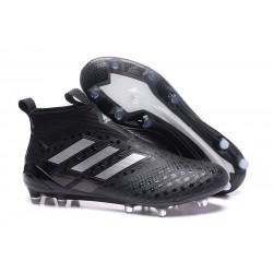 Crampon de Foot Nouveaux adidas Ace17+ Purecontrol FG - Noir Argent