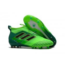 Crampon de Foot Nouveaux adidas Ace17+ Purecontrol FG - Vert Noir