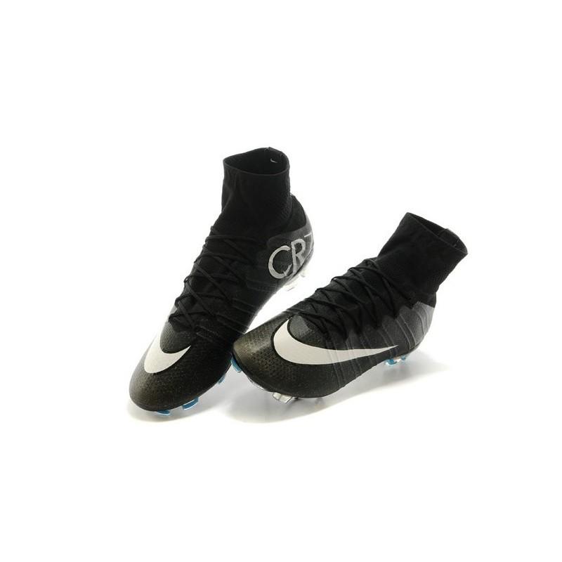 Cr7 Mercurial Superfly Chaussure Foot Fg Noir Nike Ronaldo Nouvelle qfvanAw7