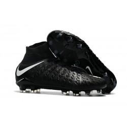 Chaussure Football Nouveaux Nike Hypervenom Phantom 3 DF FG - Noir Blanc