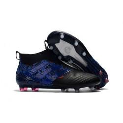 Crampon de Foot Nouveaux adidas Ace17+ Purecontrol Dragon FG - Bleu Noir
