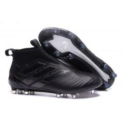 Crampon de Foot Nouveaux adidas Ace17+ Purecontrol FG - Tout Noir