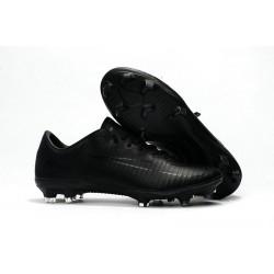 Nike Mercurial Vapor 11 FG Nouveaux Crampons de Foot Tout Noir