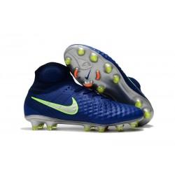 Nike Chaussure Football Nouveaux Magista Obra II FG Bleu