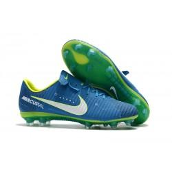Nike Mercurial Vapor XI FG Neuf Chaussure Football Neymar Bleu