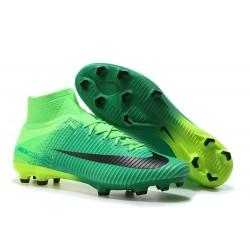 Nike Chaussure Foot Neuf Mercurial Superfly 5 FG ACC Vert Noir