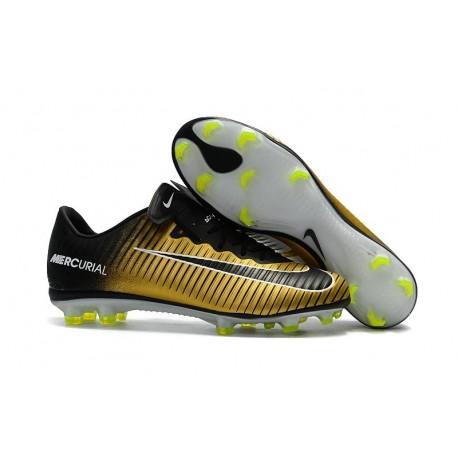 chaussures de sport 29a14 1ac4a Nike Mercurial Vapor XI FG Neuf Chaussure Football Jaune Noir