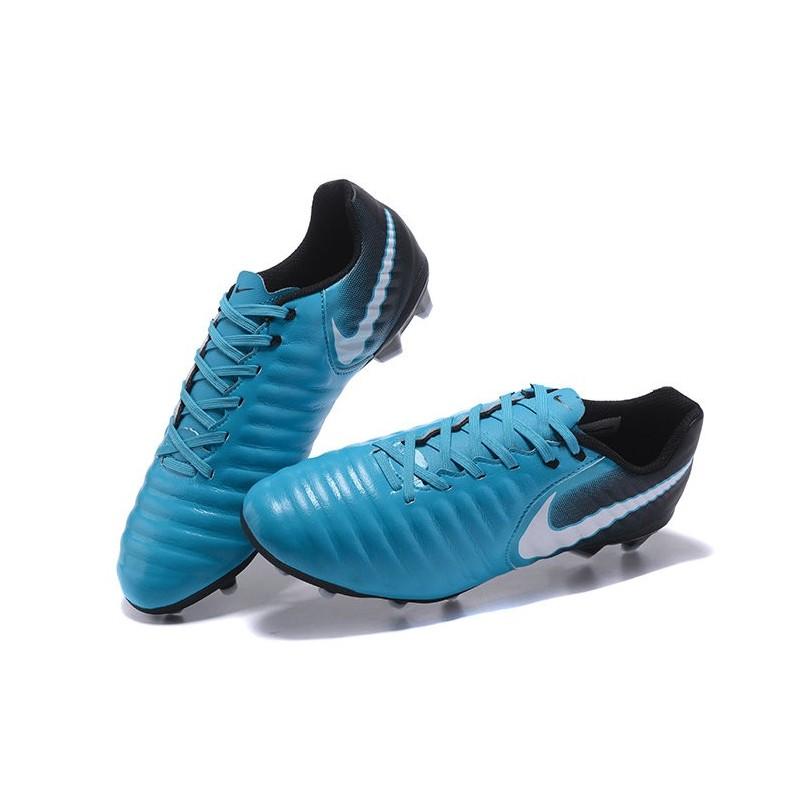 Chaussure Football Nouvelles Nike Tiempo Legend VII FG , Bleu Zoom.  Précédent. Suivant