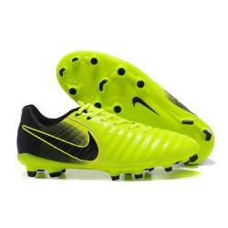 Chaussure Football Nouvelles Nike Tiempo Legend VII FG - Vert Noir