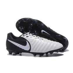 Chaussure Football Nouvelles Nike Tiempo Legend VII FG - Blanc