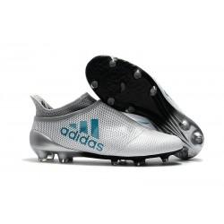 adidas Crampons de Football X17+ Purespeed FG - Blanc