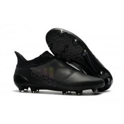 adidas Crampons de Football X17+ Purespeed FG - Noir
