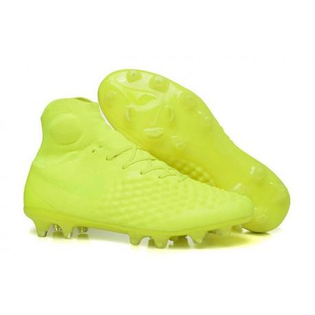 Nike Chaussure Football Nouveaux Magista Obra II FG Volt