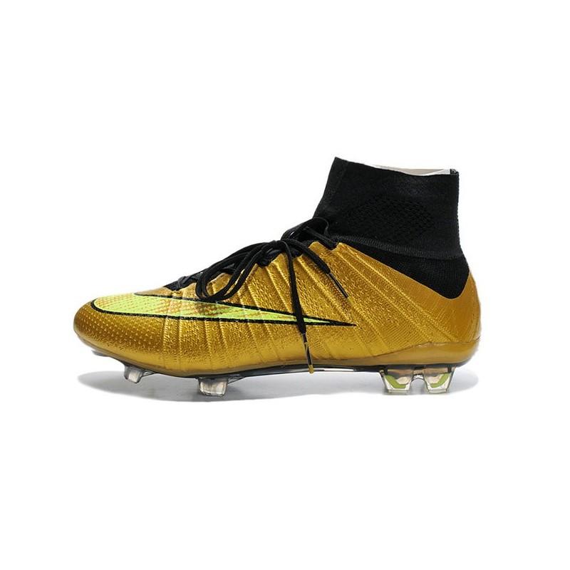 Or Noir Chaussure Foot Fg Nike Nouvelle Mercurial Ronaldo Superfly kXiPZu
