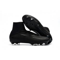 Nike Mercurial Superfly 5 FG ACC Chaussures de Foot Tout Noir