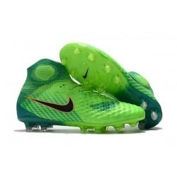 Nike Chaussure Football Nouveaux Magista Obra II FG Vert Noir