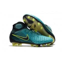 Nike Chaussure Football Nouveaux Magista Obra II FG Bleu Noir