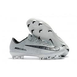 Nike Crampon de Foot Mercurial Vapor 11 CR7 FG ACC Blanc Noir