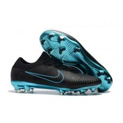 Nike Mercurial Vapor Flyknit Ultra FG Chaussures - Noir Bleu