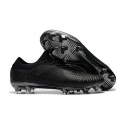 Nike Mercurial Vapor Flyknit Ultra FG Chaussures - Tout Noir