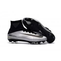 Nike Mercurial Superfly 5 FG ACC Chaussures de Foot Metallico Noir