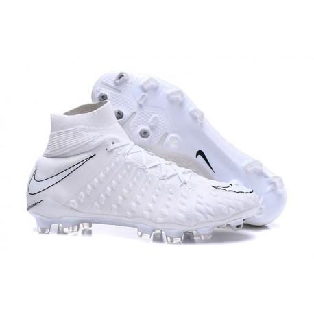 Nike Chaussures Hypervenom Phantom 3 Dynamic Fit FG - Blanc