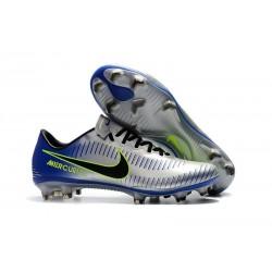 Nike Mercurial Vapor 11 FG Chaussures de Football - Argent Noir