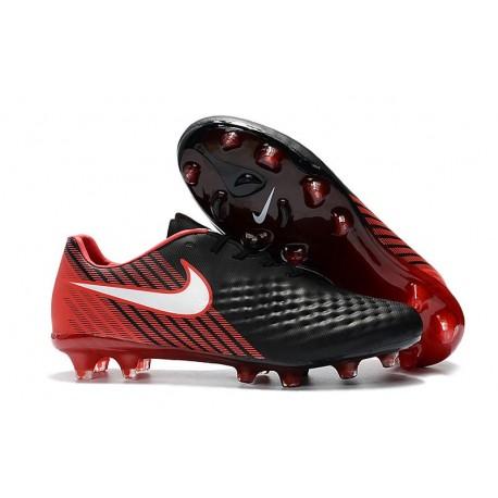 Nike Magista Opus II FG Crampon de Foot - Noir Rouge