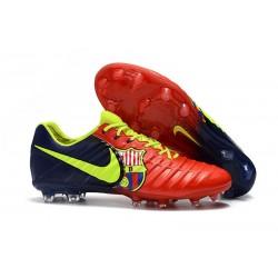 Nike Crampons de Foot Homme Tiempo Legend 7 FG - Barcelona