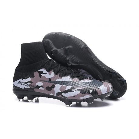 Crampons Football Nouveaux Nike Mercurial Superfly V FG - Marron Noir