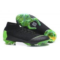 Nike Mercurial Superfly VI Elite FG Nouveau Chaussure Noir Vert