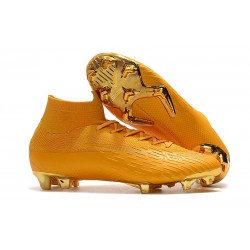 Nike Nouvelles Crampon Mercurial Superfly 360 Elite FG Or