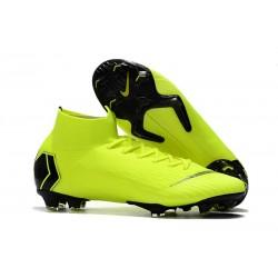 Nike Nouvelles Crampon Mercurial Superfly 360 Elite FG Volt Noir