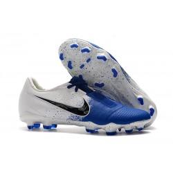 Nike Phantom Venom Elite FG Neuf Crampons Bleu Blanc