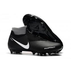 Chaussures Nike Phantom Vision Elite Dynamic Fit FG Noir Rouge